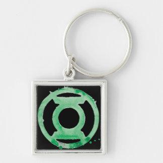 Coffee Lantern Symbol - Green Key Chain