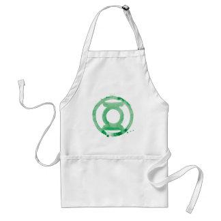 Coffee Lantern Symbol - Green Standard Apron