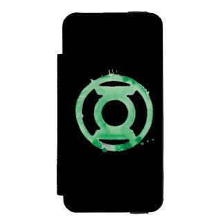 Coffee Lantern Symbol - Green Incipio Watson™ iPhone 5 Wallet Case