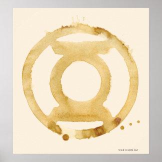 Coffee Lantern Symbol Posters
