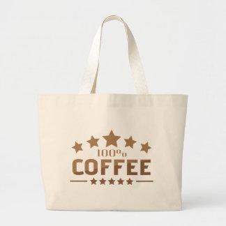 coffee large tote bag