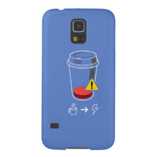 Coffee level low case for galaxy s5