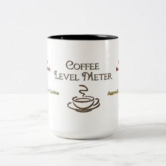 Coffee Level Metre Coffee Mug