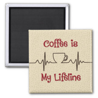 Coffee Lifeline Magnet