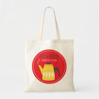 Coffee - Liquid Love Tote Bag