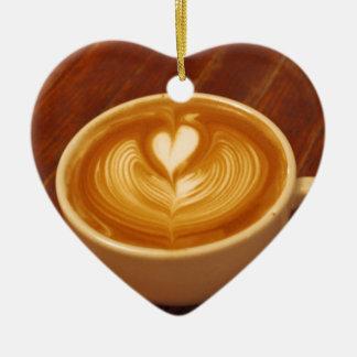 Coffee Love Ceramic Ornament