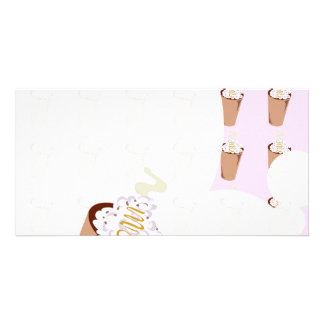 Coffee Love Stationery Photo Card Template