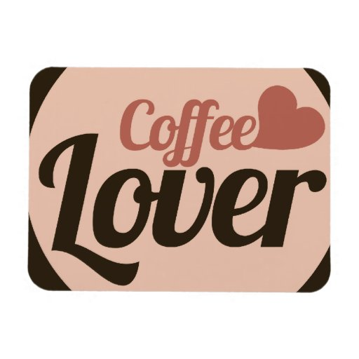 Coffee Lover Rectangular Magnets