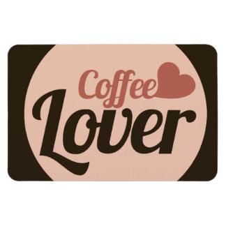 Coffee Lover Rectangular Photo Magnet