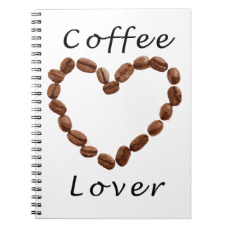 Coffee Lover Spiral Note Book
