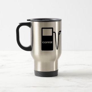 Coffee lover travel mug- coffee junkie travel mug
