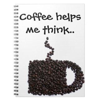 Coffee Lover Unique Personalized Gift Present Note Books