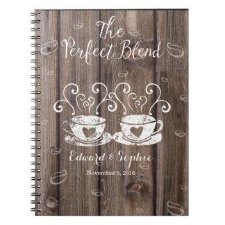 coffee lover wedding planner book bride planning