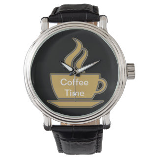 Coffee Lover Wristwatch