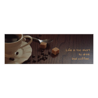 Coffee lover's poster