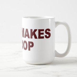 Coffee Makes Me Poop - Mug / Cup