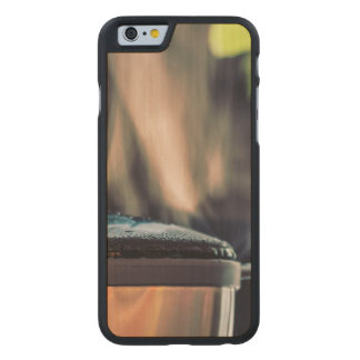 Coffee making carved® maple iPhone 6 case