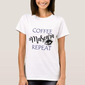 Coffee Mascara Repeat T-Shirt