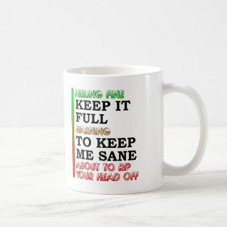 Coffee Meter Funny Mug