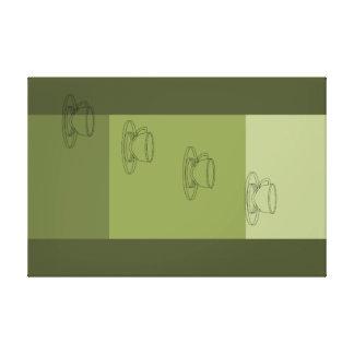 Coffee Modern Minimalism Art Decor Print Olive Gallery Wrap Canvas