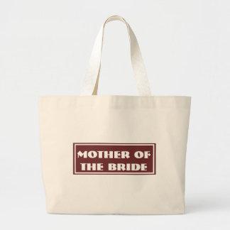 Coffee Mother of the Bride Wedding Jumbo Tote Bag