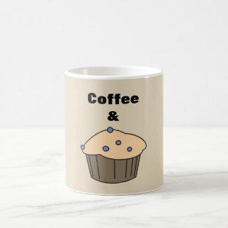 Coffee & Muffin Sweet Couple Light Brown Mug
