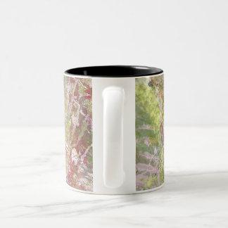 coffee mug 11 oz. with artistic design multi color