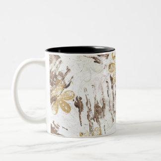coffee mug 11oz. two-tone custom design`