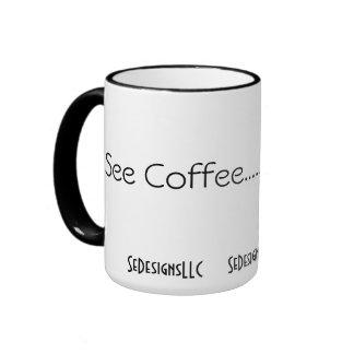 Coffee Mug 15oz Ringer Style SeDesignsLLC
