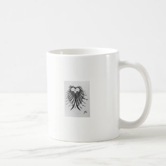 Coffee Mug '80's Cute Doodle Owl Black and White
