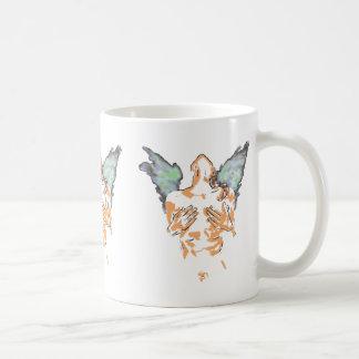 COFFEE MUG ANGEL WINGS