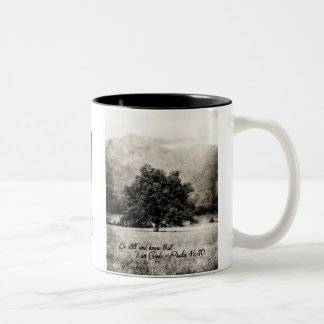 Coffee Mug - Be Still and Know that I am God