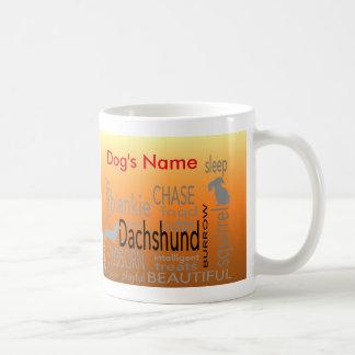 Coffee Mug - Dachshund