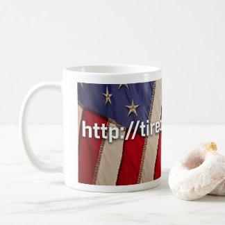 Coffee Mug Flag- Tired of Winning RU