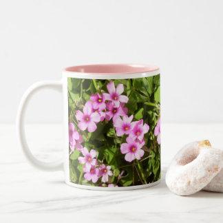 Coffee Mug - Flowering Shamrocks