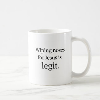 Coffee mug for Christian moms, funny quote