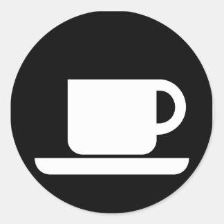 Coffee Mug for coffee lovers! Classic Round Sticker