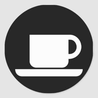 Coffee Mug for coffee lovers! Round Sticker