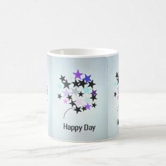 Coffee Mug Happy Day Stars