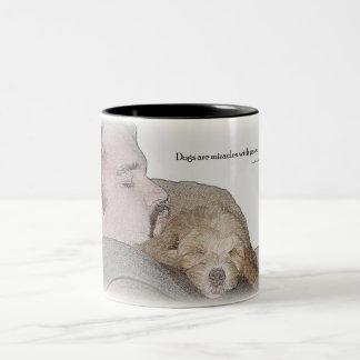 Coffee mug honoring mans best friend