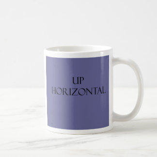 Coffee mug horizontal template