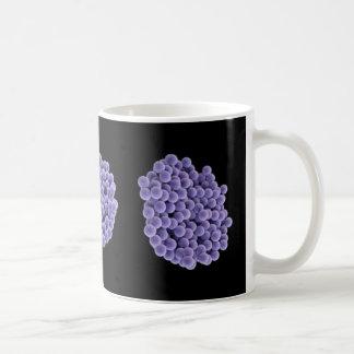 Coffee Mug - MRSA (violet on black background)