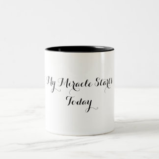 Coffee Mug - My Miracle Starts Today
