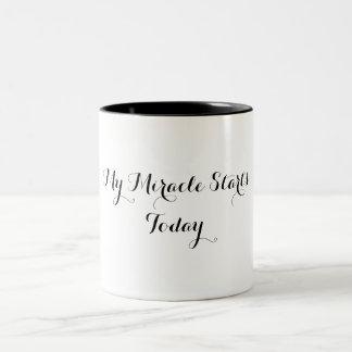 Coffee Mug - My Miracle Starts Today