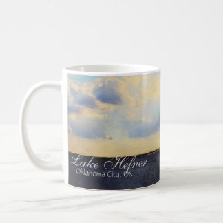 Coffee Mug Painting Lake Hefner, Oklahoma City, OK