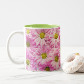 Coffee Mug - Pink Gerbera Daisies
