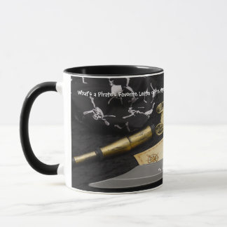 Coffee Mug-- Pirate Mug