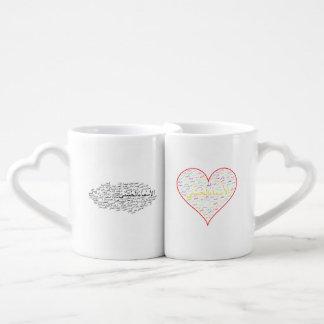 Coffee Mug Set: 99 Names of Allah (Arabic)