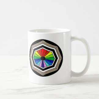Coffee Mug Stained Glass Window