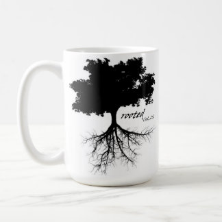 Coffee mug (tree with roots)